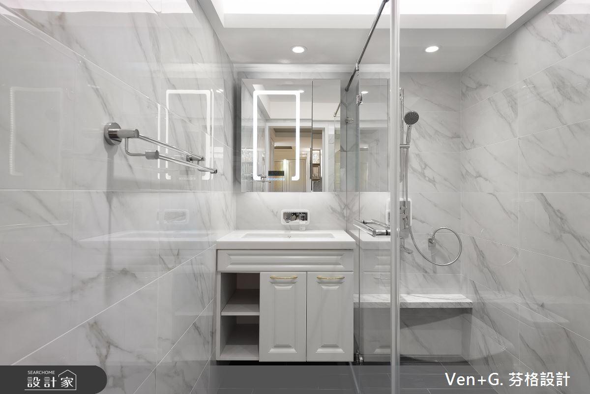 40坪老屋(16~30年)_美式風浴室案例圖片_芬格空間設計事務所_芬格_33之20