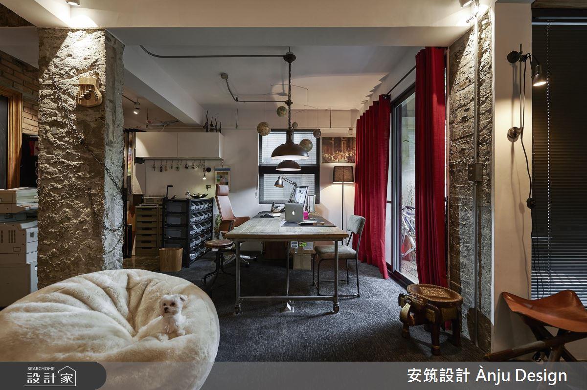 創意翻玩30坪老屋 充滿工業風的設計工作室