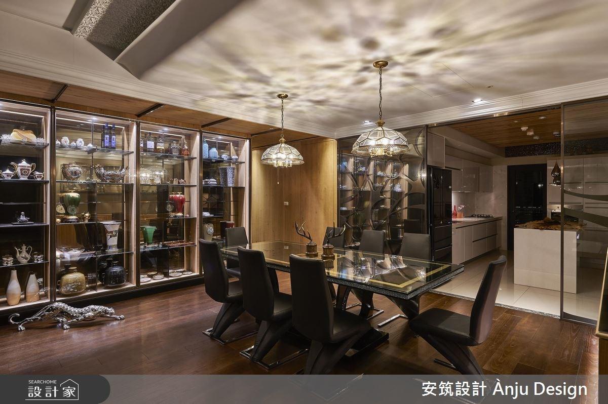 50坪新成屋(5年以下)_混搭風餐廳案例圖片_安筑設計 Ànju Design_安筑_04之2