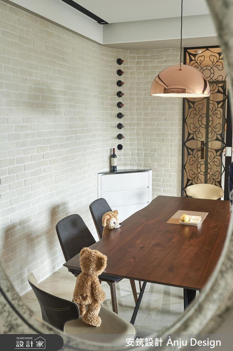 42坪新成屋(5年以下)_美式風餐廳案例圖片_安筑設計 Ànju Design_安筑_05之9