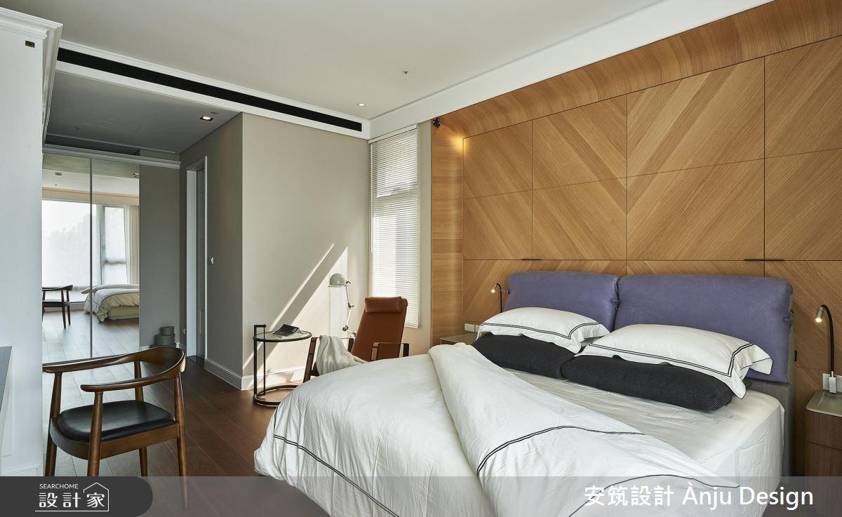 42坪新成屋(5年以下)_美式風臥室案例圖片_安筑設計 Ànju Design_安筑_05之11