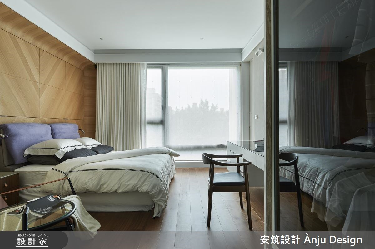 42坪新成屋(5年以下)_美式風臥室案例圖片_安筑設計 Ànju Design_安筑_05之12