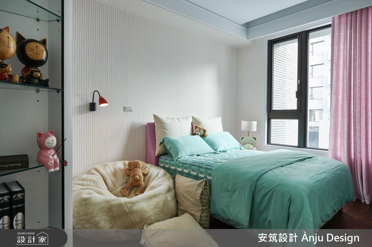 42坪新成屋(5年以下)_美式風臥室案例圖片_安筑設計 Ànju Design_安筑_05之14