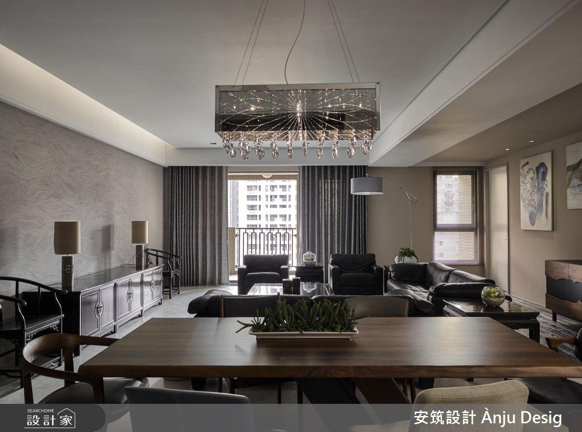50坪新成屋(5年以下)_新中式風餐廳案例圖片_安筑設計 Ànju Design_安筑_09之3