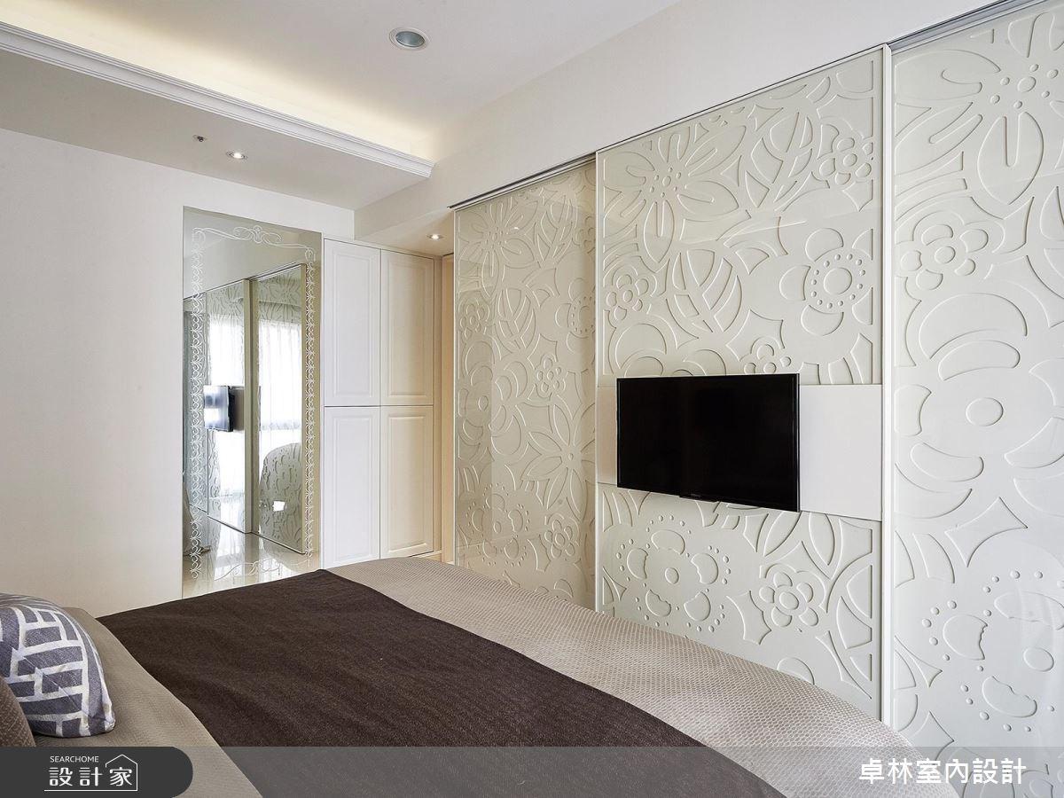 33坪新成屋(5年以下)_新古典臥室案例圖片_卓林室內設計有限公司_卓林_01之10