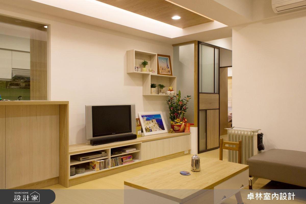 26坪老屋(16~30年)_北歐風客廳案例圖片_卓林室內設計有限公司_卓林_06之2