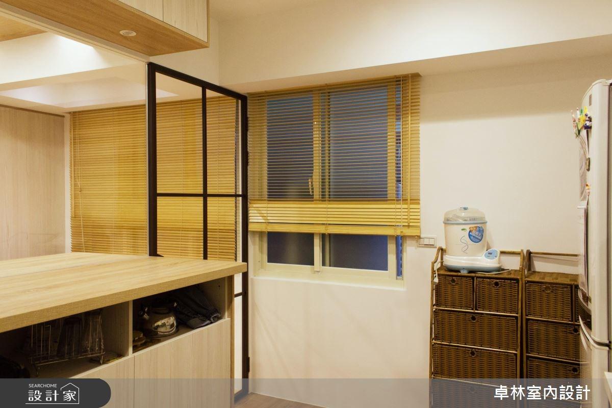 26坪老屋(16~30年)_北歐風廚房案例圖片_卓林室內設計有限公司_卓林_06之3