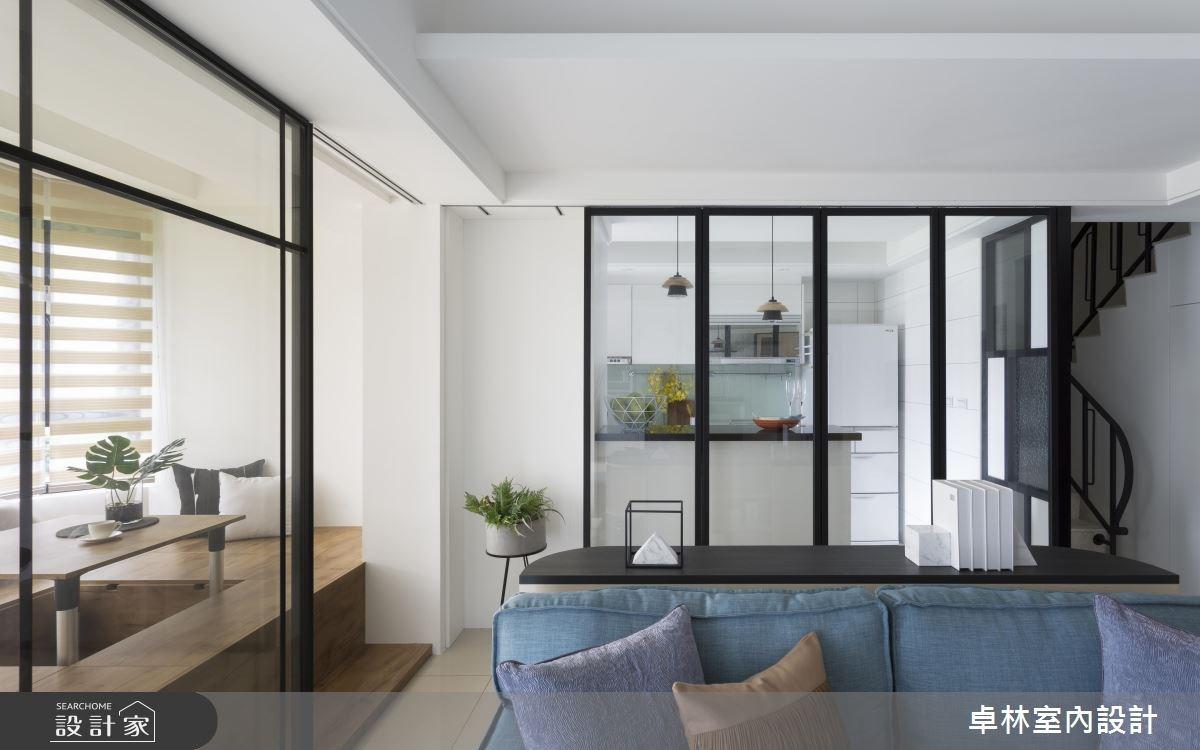 26坪新成屋(5年以下)_北歐風客廳案例圖片_卓林室內設計有限公司_卓林_07之3