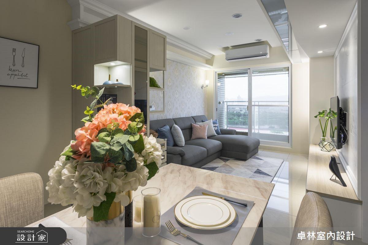 21坪新成屋(5年以下)_混搭風餐廳案例圖片_卓林室內設計有限公司_卓林_08之2