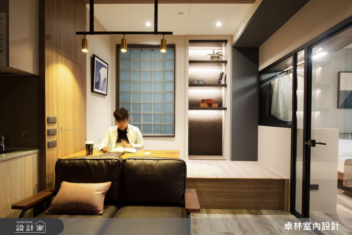 8坪新成屋(5年以下)_現代風案例圖片_卓林室內設計有限公司_卓林_12之4