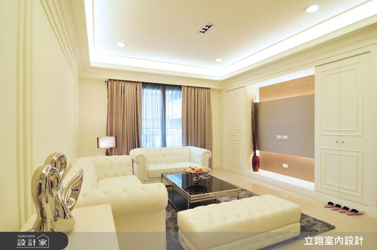 40坪新成屋(5年以下)_新古典案例圖片_立翊室內設計_立翊_05之1
