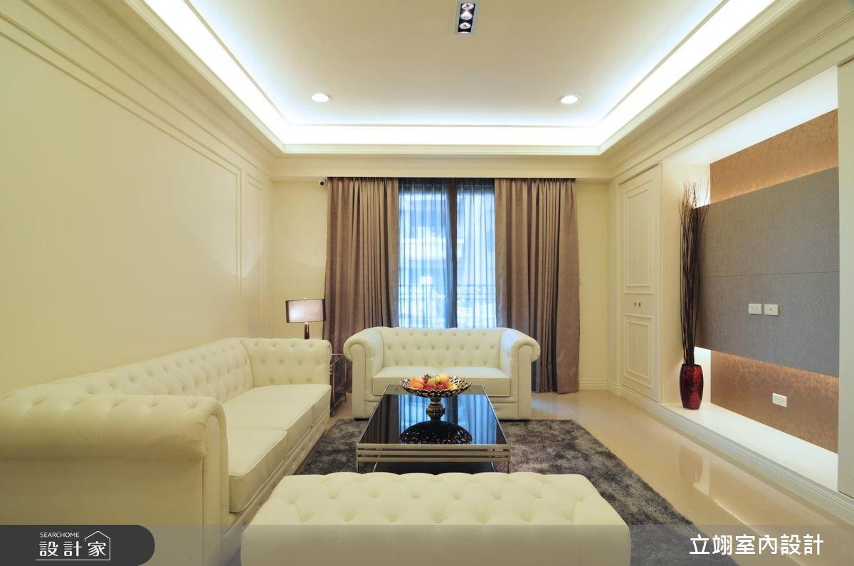 40坪新成屋(5年以下)_新古典案例圖片_立翊室內設計_立翊_05之2