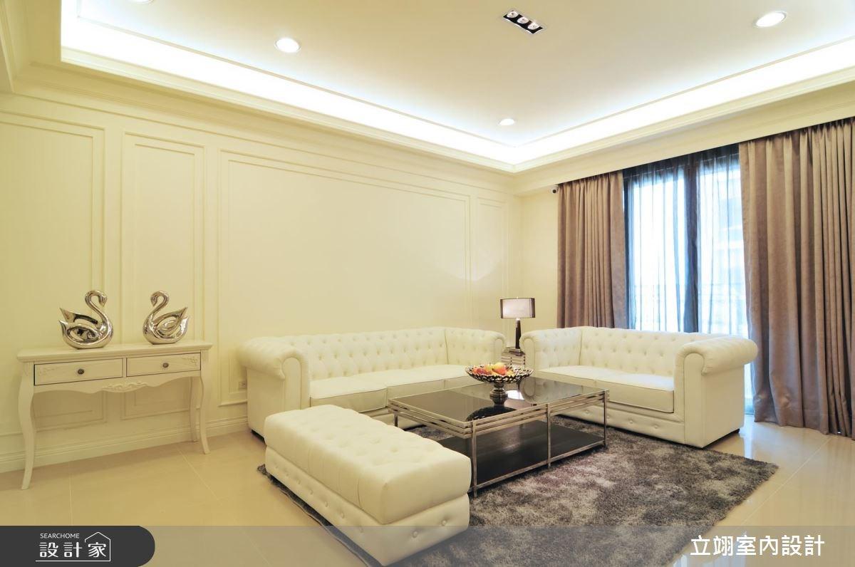 40坪新成屋(5年以下)_新古典案例圖片_立翊室內設計_立翊_05之3