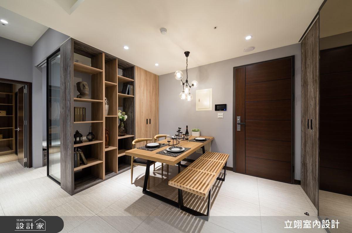35坪新成屋(5年以下)_混搭風案例圖片_立翊室內設計_立翊_13之1