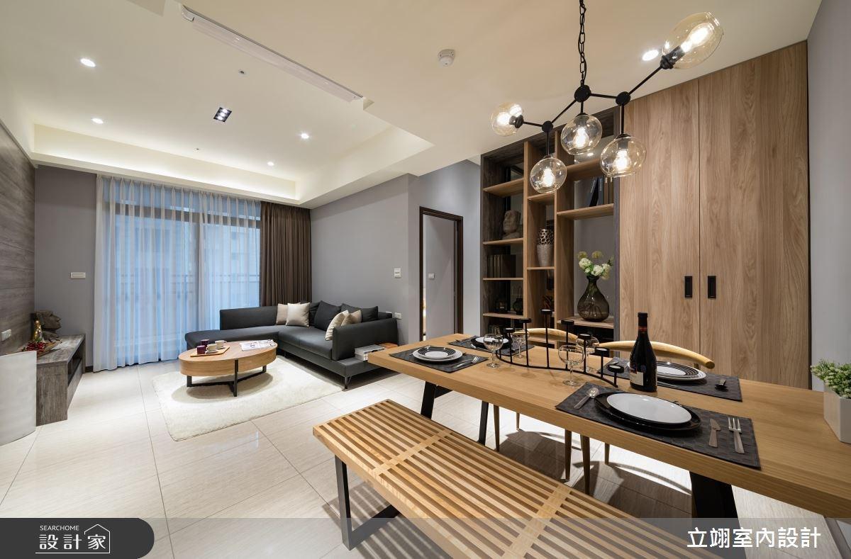 35坪新成屋(5年以下)_混搭風案例圖片_立翊室內設計_立翊_13之4