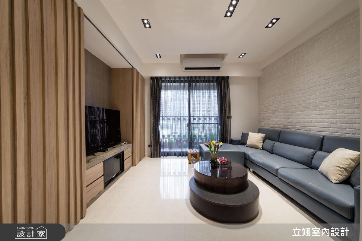 100坪新成屋(5年以下)_現代風案例圖片_立翊室內設計_立翊_16之4