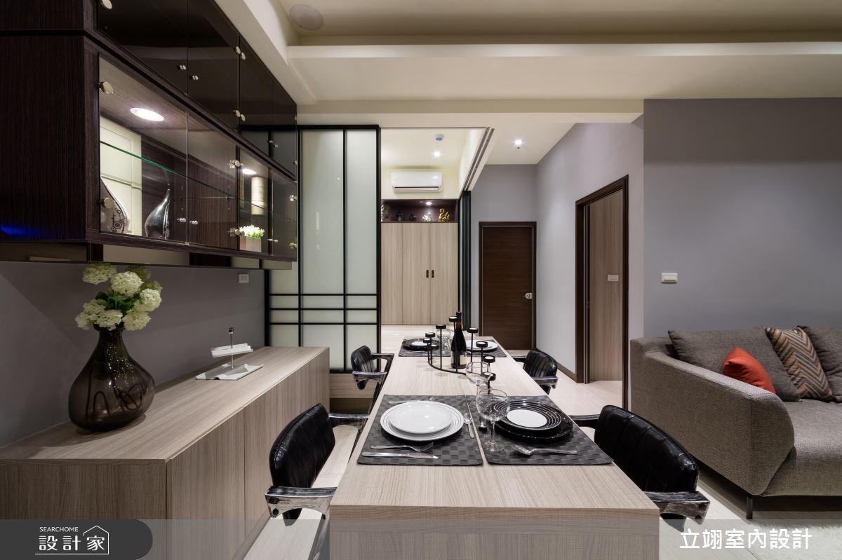 36坪新成屋(5年以下)_混搭風案例圖片_立翊室內設計_立翊_17之2