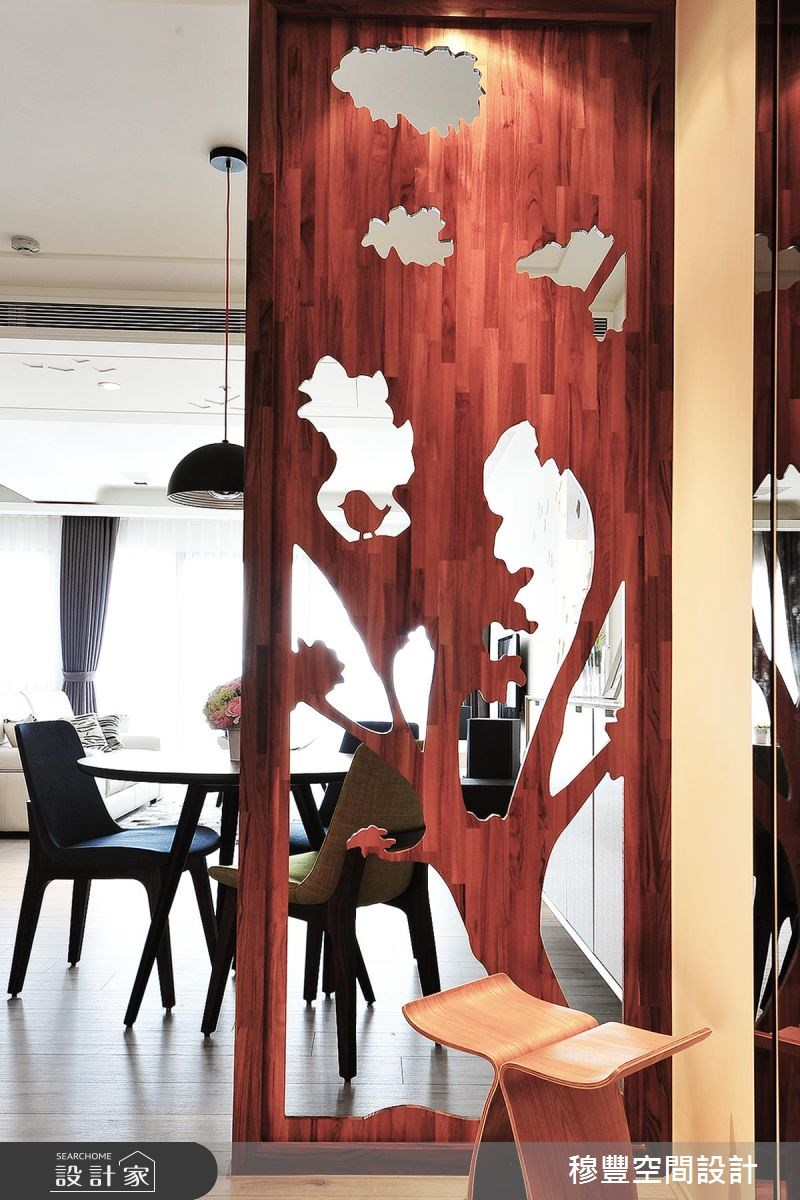 36坪新成屋(5年以下)_北歐風玄關案例圖片_穆豐空間設計有限公司_穆豐_漫漫.北歐風之2