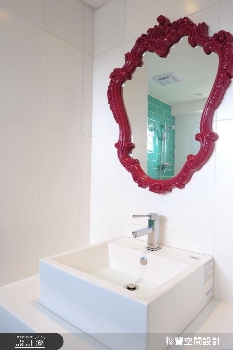 33坪老屋(16~30年)_北歐風浴室案例圖片_穆豐空間設計有限公司_穆豐_山城.甜蜜城堡之17