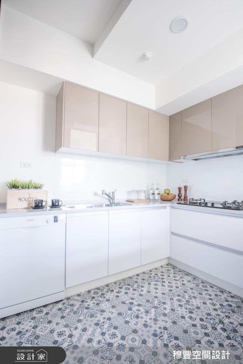 25坪老屋(16~30年)_北歐風廚房案例圖片_穆豐空間設計有限公司_穆豐_蔚藍公寓之11