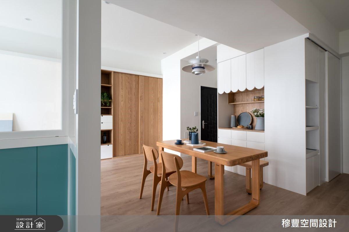 新成屋(5年以下)_北歐風餐廳案例圖片_穆豐空間設計有限公司_穆豐_我們之14