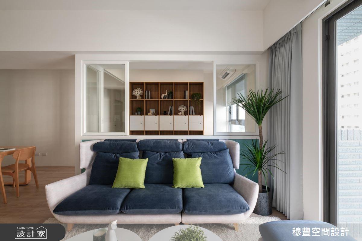 新成屋(5年以下)_北歐風客廳案例圖片_穆豐空間設計有限公司_穆豐_我們之9
