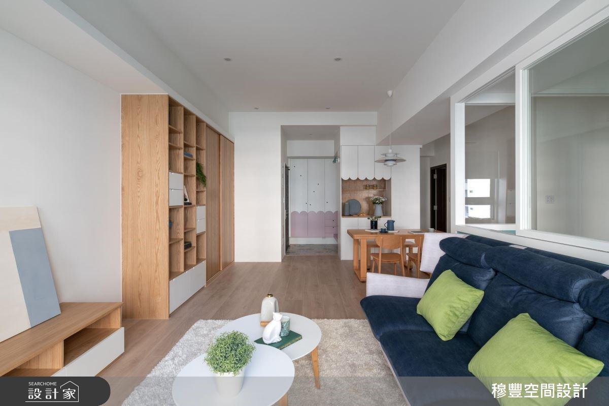 新成屋(5年以下)_北歐風玄關客廳餐廳案例圖片_穆豐空間設計有限公司_穆豐_我們之4