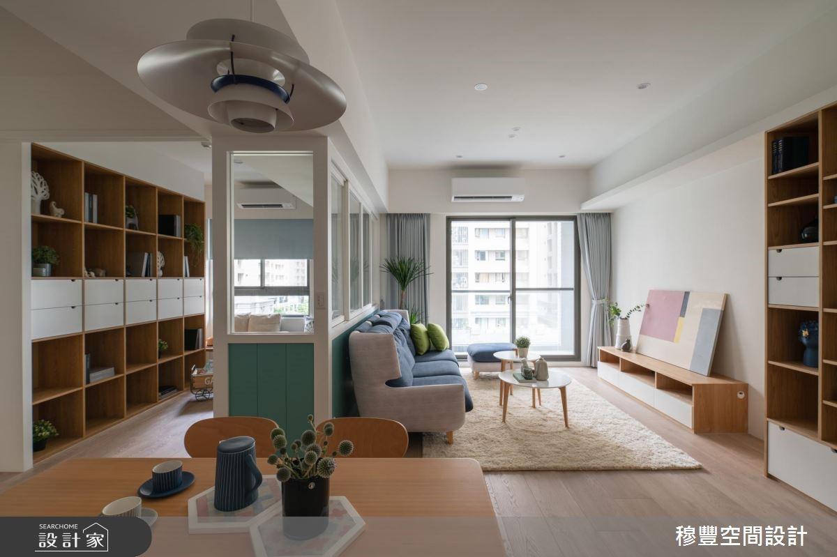 新成屋(5年以下)_北歐風客廳案例圖片_穆豐空間設計有限公司_穆豐_我們之11