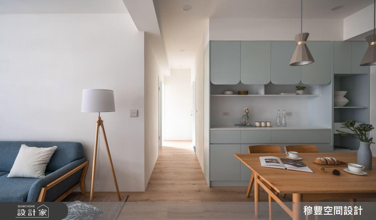 23坪新成屋(5年以下)_北歐風客廳餐廳案例圖片_穆豐空間設計有限公司_穆豐_小時光之3