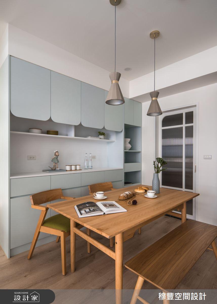 23坪新成屋(5年以下)_北歐風餐廳案例圖片_穆豐空間設計有限公司_穆豐_小時光之15