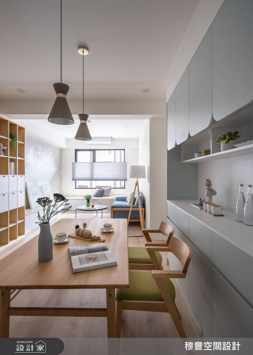 23坪新成屋(5年以下)_北歐風餐廳案例圖片_穆豐空間設計有限公司_穆豐_小時光之12