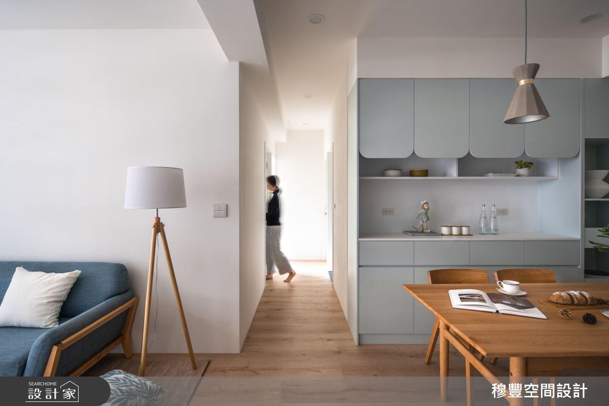 23坪新成屋(5年以下)_北歐風餐廳案例圖片_穆豐空間設計有限公司_穆豐_小時光之13