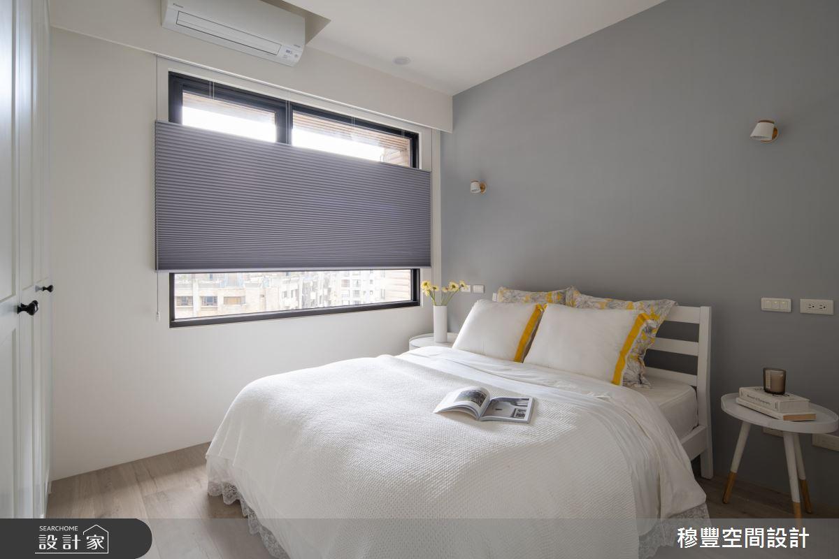 23坪新成屋(5年以下)_北歐風臥室案例圖片_穆豐空間設計有限公司_穆豐_小時光之16