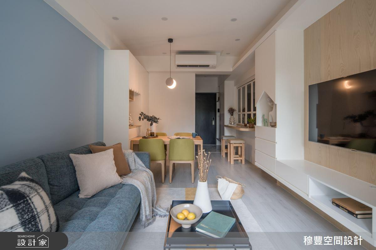 新成屋(5年以下)_北歐風客廳案例圖片_穆豐空間設計有限公司_穆豐_甜甜好日子之3