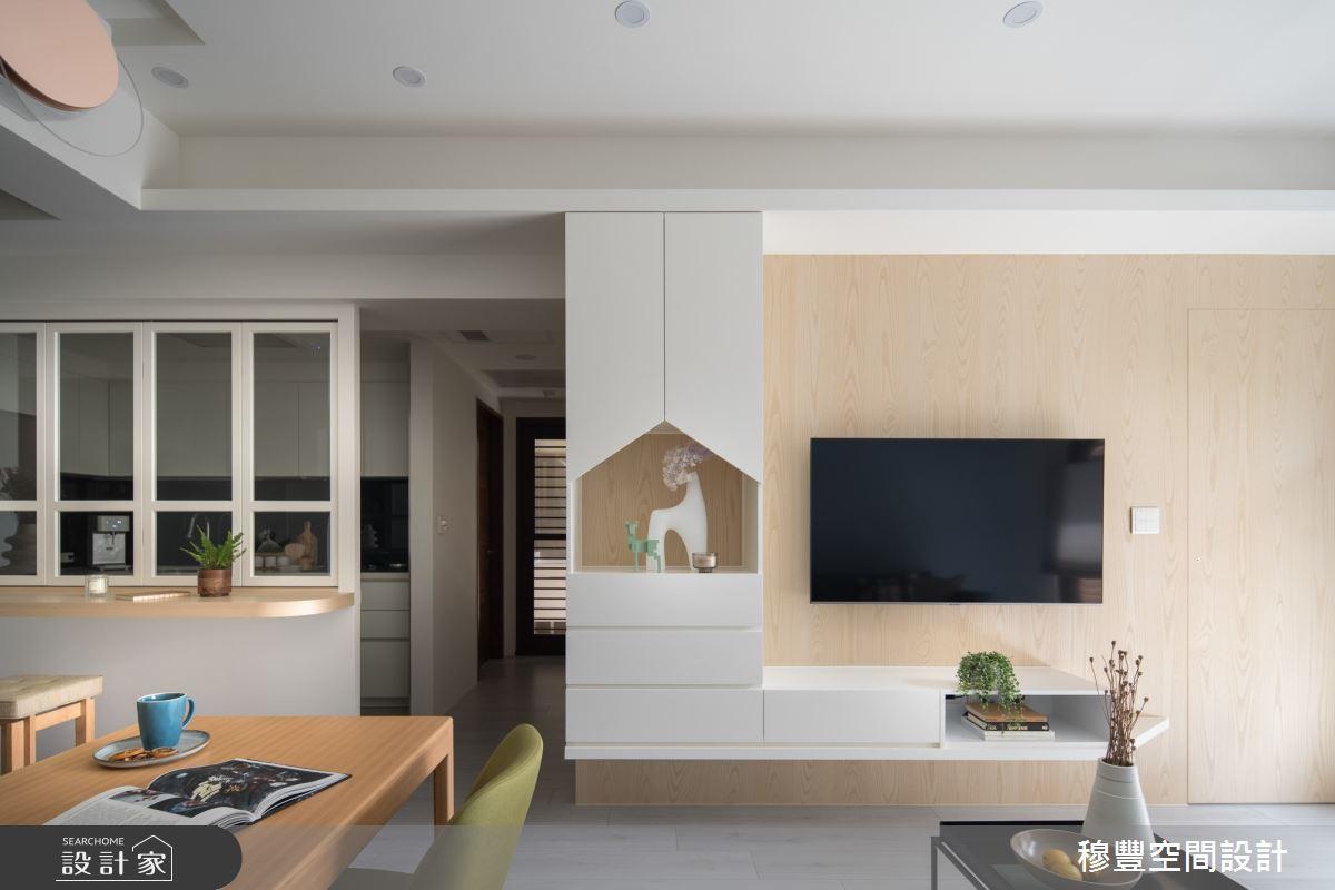 新成屋(5年以下)_北歐風客廳案例圖片_穆豐空間設計有限公司_穆豐_甜甜好日子之4