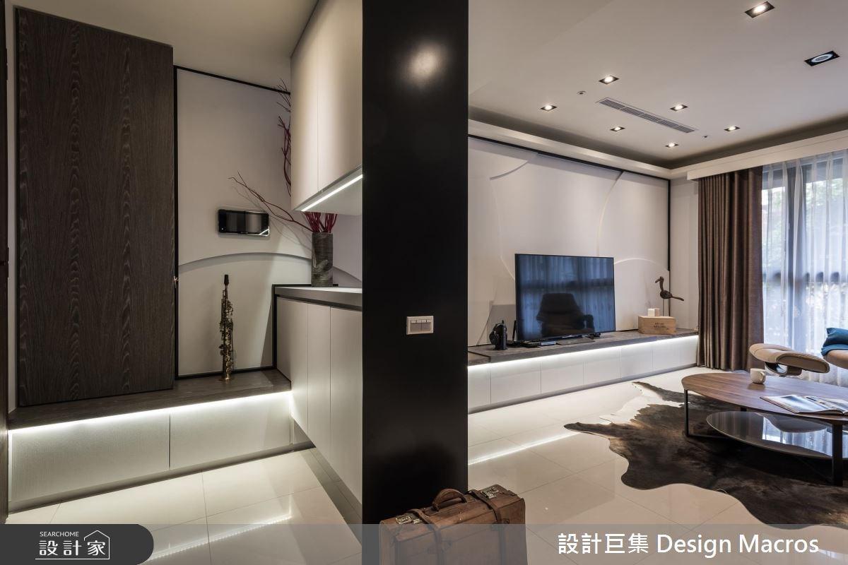 40坪新成屋(5年以下)_簡約風案例圖片_設計巨集x鄭智元建築師事務所_設計巨集_04之4
