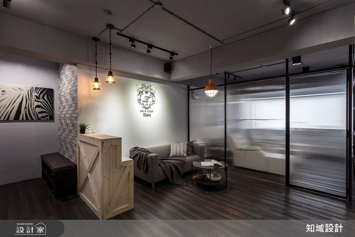 20坪中古屋(5~15年)_工業風商業空間案例圖片_知域設計 X 一己空間制作_知域_eyeslash salon之1