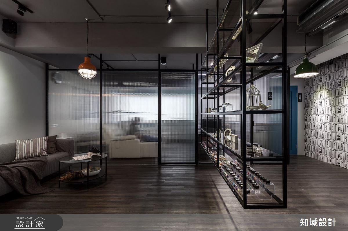 20坪中古屋(5~15年)_工業風商業空間案例圖片_知域設計 X 一己空間制作_知域_eyeslash salon之4