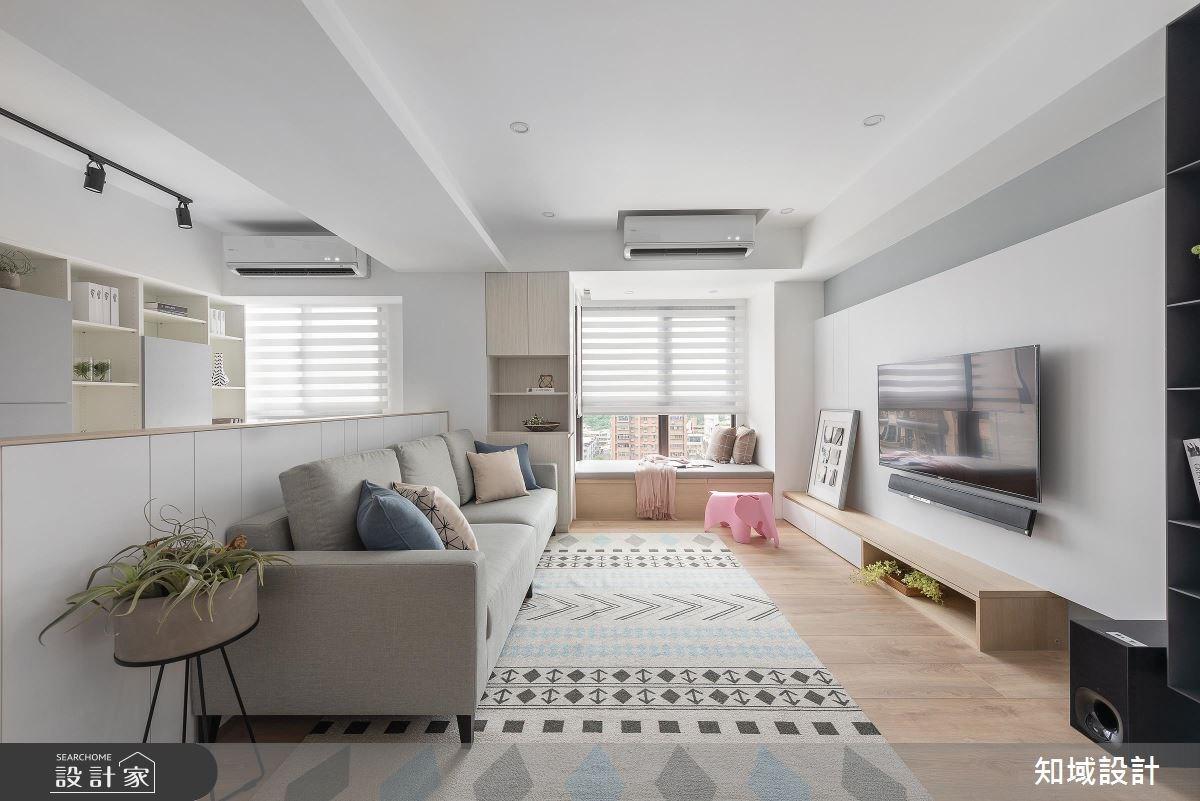 40坪新成屋(5年以下)_北歐風客廳案例圖片_知域設計 X 一己空間制作_知域_童趣之2