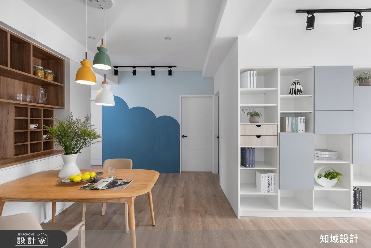 40坪新成屋(5年以下)_北歐風餐廳案例圖片_知域設計 X 一己空間制作_知域_童趣之10