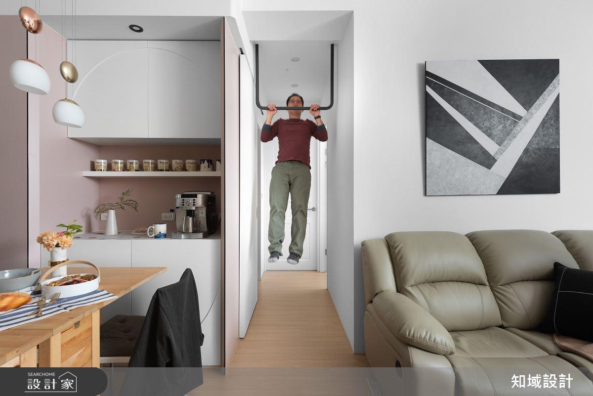 24坪新成屋(5年以下)_北歐風客廳案例圖片_知域設計 X 一己空間制作_知域_柒棲之3