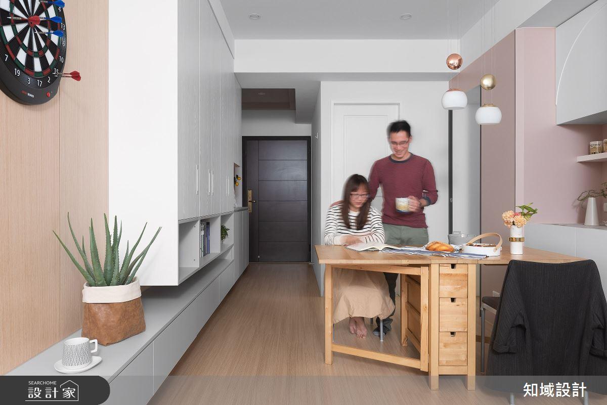 24坪新成屋(5年以下)_北歐風餐廳案例圖片_知域設計 X 一己空間制作_知域_柒棲之4