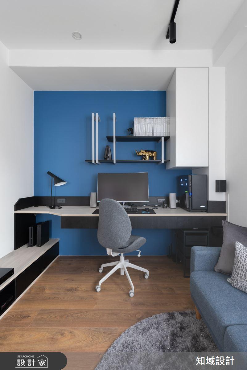 26坪新成屋(5年以下)_北歐風書房多功能室案例圖片_知域設計 X 一己空間制作_知域_浮孵之11