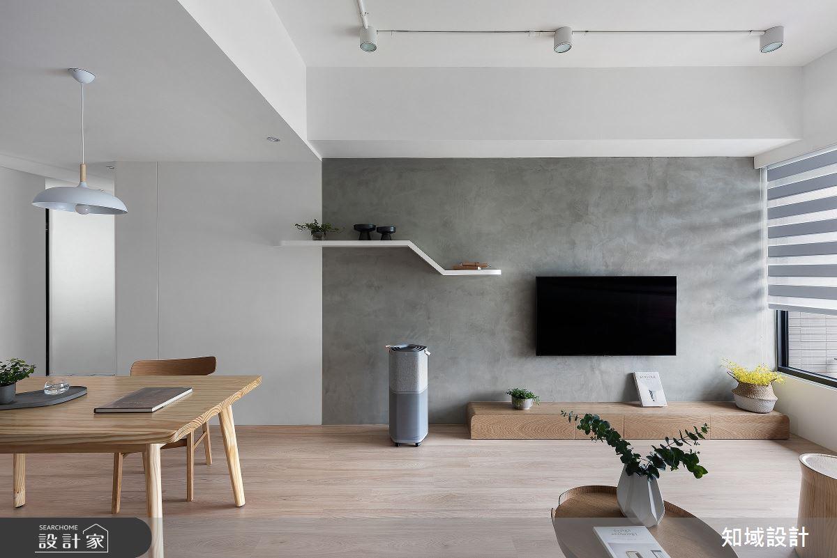 14坪新成屋(5年以下)_北歐風客廳餐廳案例圖片_知域設計 X 一己空間制作_知域_Miji Island之3