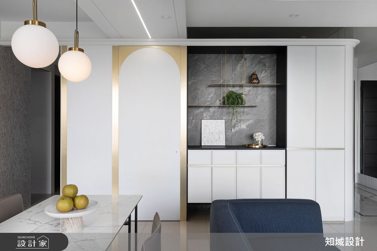 30坪新成屋(5年以下)_現代風餐廳案例圖片_知域設計 X 一己空間制作_知域_翩翩之6