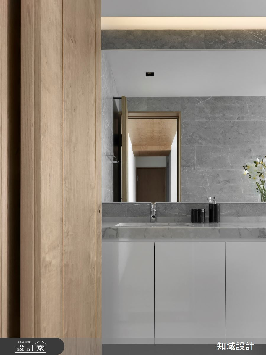 30坪中古屋(5~15年)_現代風浴室案例圖片_知域設計 X 一己空間制作_知域_Wood Fashion之20