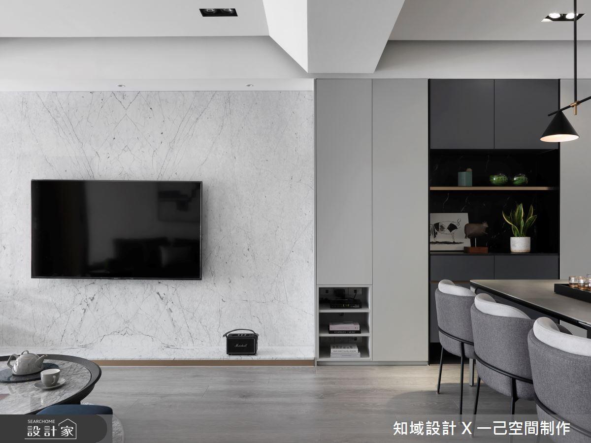 38坪中古屋(5~15年)_現代風餐廳案例圖片_知域設計 X 一己空間制作_知域_Modern J之4