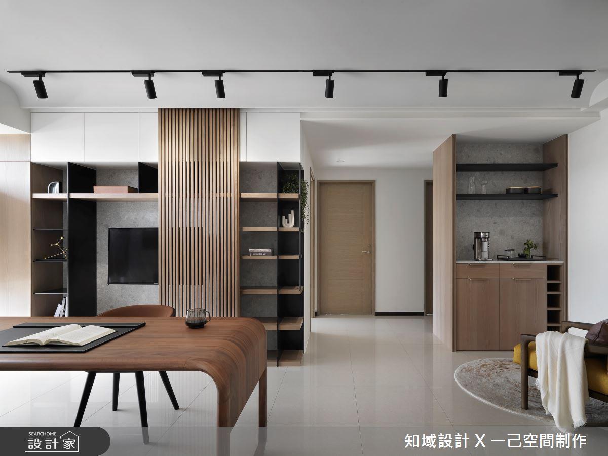 26坪新成屋(5年以下)_混搭風書房案例圖片_知域設計 X 一己空間制作_知域_丘壑之1