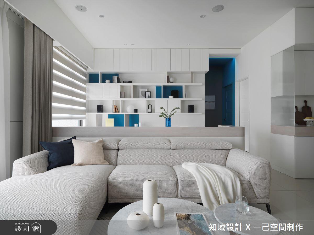 20坪新成屋(5年以下)_北歐風客廳案例圖片_知域設計 X 一己空間制作_知域_漫漫之4