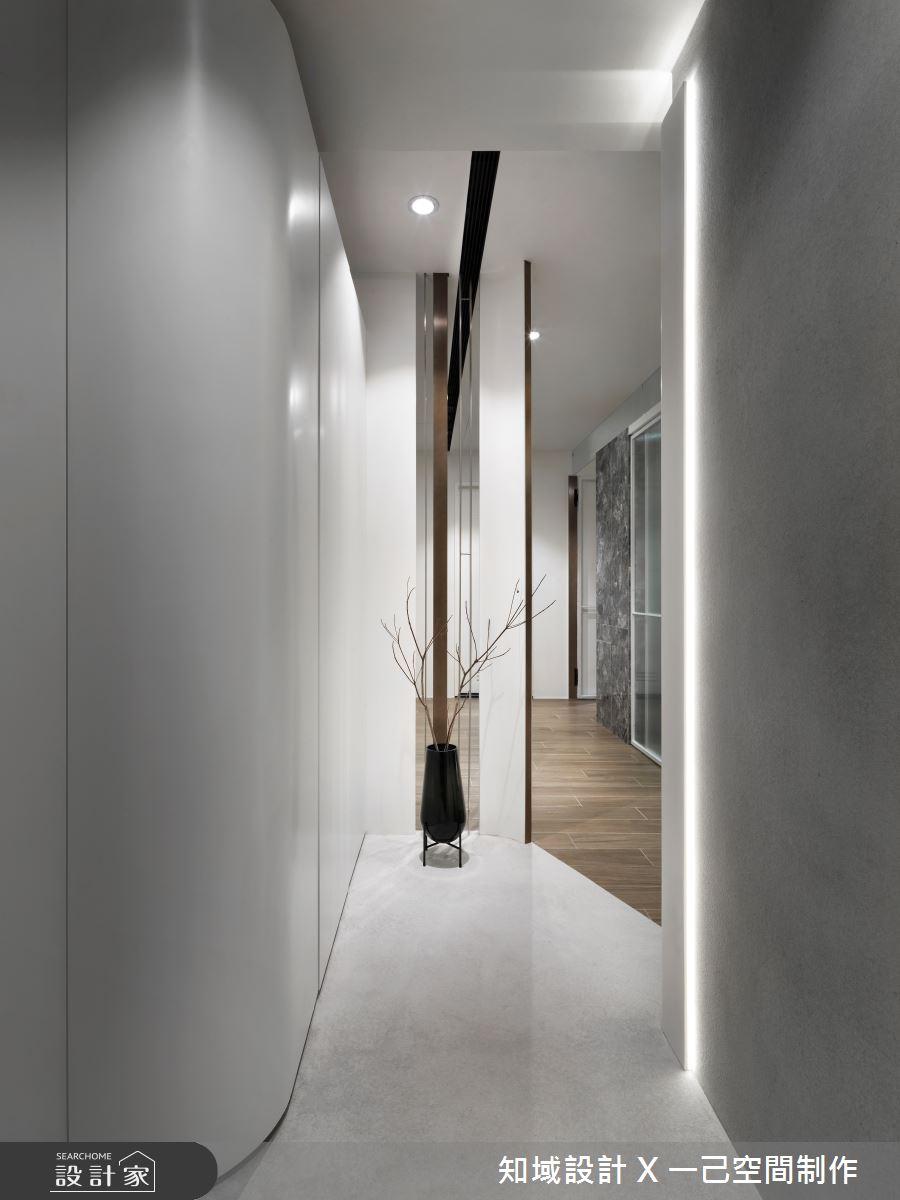 10坪新成屋(5年以下)_現代風玄關案例圖片_知域設計 X 一己空間制作_知域_曼哈頓之1